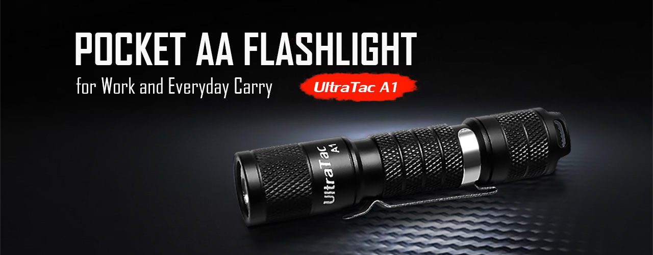 UltraTac A1 Pocket AA Flashlight